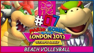 Mario & Sonic at the London 2012 Olympic Games 2 player coop gameplay for Nintendo Wii. In part 7, we take on the Beach Volleyball Doubles Event with Bowser and Bowser JR. So many athletics events to go through and so many gold medals waiting for us to win them. GET HYPED! ►New to the Channel? Subscribe! :D http://bit.ly/1PCzTc0 ►Make sure to smash that LIKE button and let us know what content you would like to see! :]►Hey there awesome viewer. We'd like to thank you so much for taking the time to check out our video/content. Don't forget to SMASH that like button if you enjoyed it and if not, feel free to drop us a comment down below and let us know what we can do. We are constantly improving and feedback would mean a whole lot. :] Thank you very much! ^-^►Don't forget to Subscribe and become part of the DarkLightAcadamia. We always welcome new brothers and sisters to the group and you'd be letting us know that we're creating something special. :D►Mario and Sonic at the London 2012 Olympic Games is the 3rd entry in the Mario and Sonic Olympics series released for Nintendo 3DS and Nintendo Wii. We'll face many familiar events and some new ones in this one.Feel the HYPE and follow us on:►Twitter: https://twitter.com/DarkLight_Bros ◄►Facebook: https://www.facebook.com/DarkLightBros/ ◄►Deviantart: http://darklightbros.deviantart.com/ ◄Mario and Sonic is owned By Nintendo and SegaThis video is owned by the DARKLIGHTBROS, unless images/music specified in above description.Footage recorded for fair use and intended for educational purposes, the fun and diversity of the games characters good sportsmanship involved with the olympic games.~DarkLightBros~#MarioandSonic #NintendoWii #Wii #Olympics