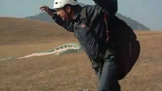 Pithoragarh India  City new picture : Para Gliding at Pithoragarh (India)