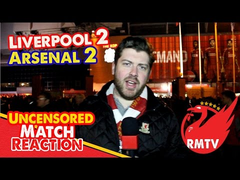 uncensored - Liverpool saved a point at Anfield against Arsenal as Martin Skrtel powered home a header in injury time to make the final score Liverpool 2-2 Arsenal. Phil Coutinho had given the Reds the...
