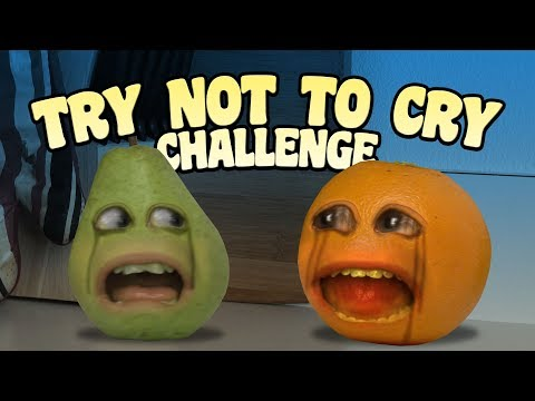 Video Annoying Orange - Try Not to Cry Challenge download in MP3, 3GP, MP4, WEBM, AVI, FLV January 2017