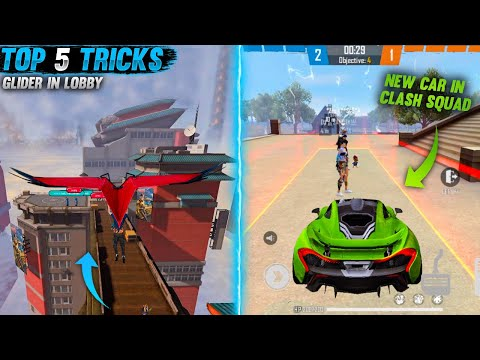 TOP 5 NEW SECRET TIPS & TRICKS IN FREE FIRE 2021- GEXAN GAMING