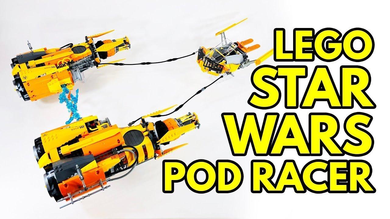 I Took Apart My LEGO Star Wars Pod Racer MOC