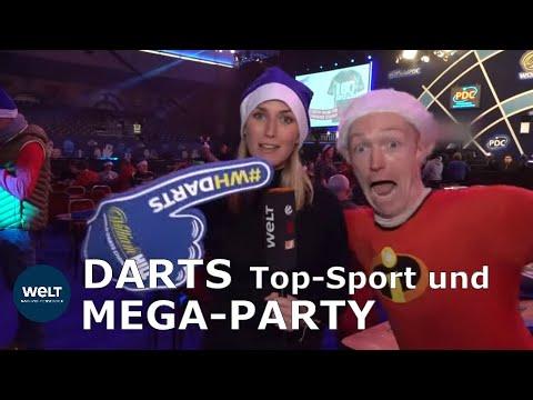 London: »Die Darts-WM erinnert an ein Event aus der d ...