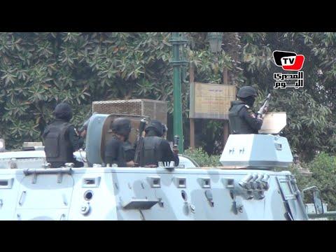 ذكرى ثورة ٢٥ يناير الرابعة | اشتباكات بين الأمن ومتظاهرين بعد فض مظاهرة «الصحفيين»