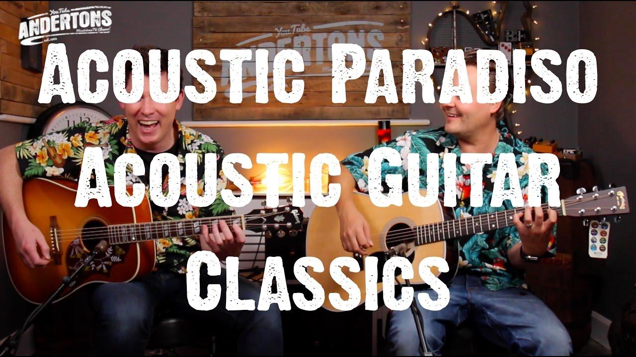 Acoustic Paradiso – Acoustic Guitar Classics