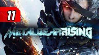 Metal Gear Rising Revengeance Walkthrough - Part 11 Screw the Police Let's Play Gameplay Commentary
