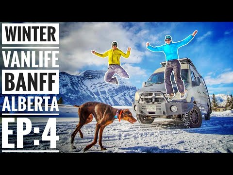 Ep 4: Winter Vanlife is More Than Skiing Powder - Banff | Adventure in a Backpack