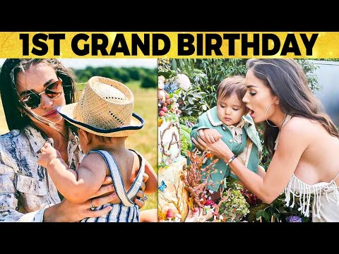 Video: Amy Jackson son Andreas 1st Grand Birthday Celebrations   Truck full of Cakes & Bakeries