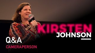 Master Classes 2018  Screening Of Cameraperson  2016  And Q A With Kirsten Johnson