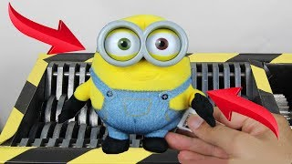 Video Experiment Shredding Descpicable Me 3 Minions And Toys | The Crusher MP3, 3GP, MP4, WEBM, AVI, FLV Juli 2017