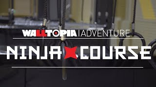 Ninja Course in Freedome Park, Cheshire Oaks, UK