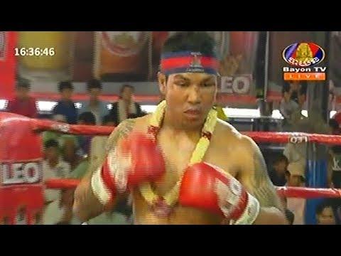 Pich Seyha vs Korngnarong(thai), Khmer Boxing Bayon 18 Feb 2018, Kun Khmer vs Muay Thai