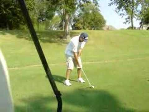 Golf shot or not! keep your eye on the ball!