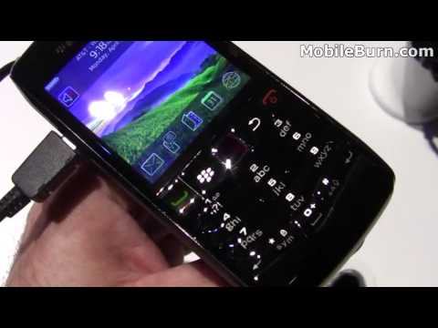 BlackBerry Pearl 3G 9100 and 9105 - first look