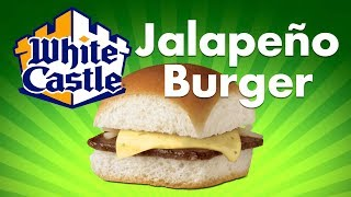 How to make the White Castle Burger with Jalepeno Cheese!