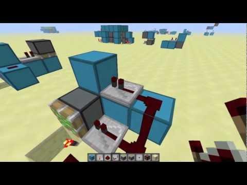 [Minecraft] 2x2隠れピストンドア