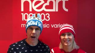 There are those out there however, who have to work on Christmas Day and right across the festive period...So nRobin and Adele from Heart Breakfast thought we should reward these guys with some donuts!