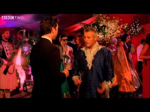 Matt LeBlanc bumps into David Schwimmer - Episodes: Series 4 Episode 5 - BBC Two