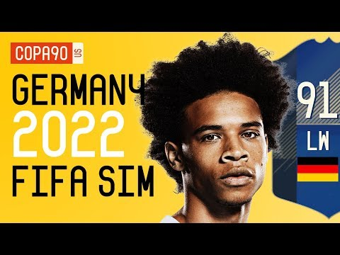How Good Leroy Sané & Germany Will Be At 2022 World Cup - FIFA 18 SIM | Ep. 4