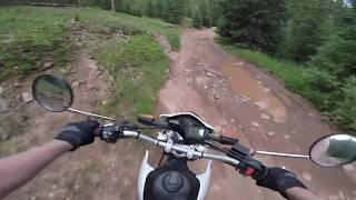 7. Rocky Mountain Enduro Riding Yamaha XT250