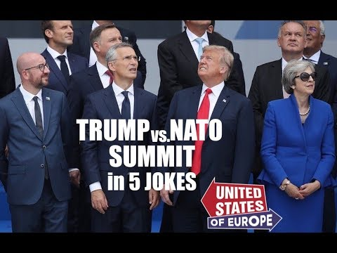 Trump vs. NATO Summit in 5 Jokes | United States of Europe