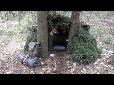 Building A Survival Shelter