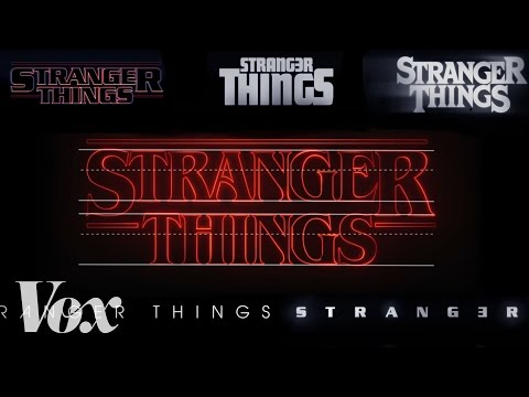 How the Stranger Things Title Sequence Was Made