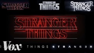 Download Youtube: How Stranger Things got its retro title sequence