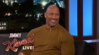 Video Dwayne Johnson Wants Jimmy Kimmel to Deliver His Baby MP3, 3GP, MP4, WEBM, AVI, FLV September 2018