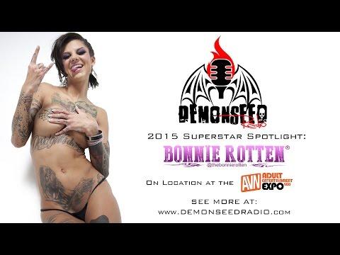Bonnie Rotten Interview - AVN 2015 - Demon Seed Radio (видео)