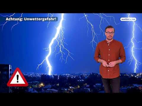 Wetter Die aktuelle Vorhersage 13.08.2018