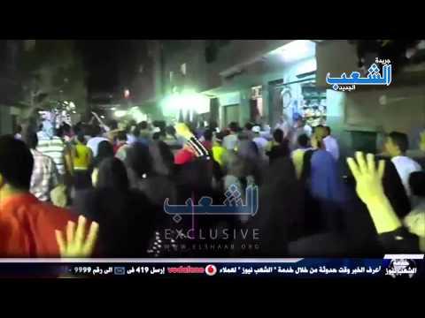 ثوار المطرية والزيتون يجوبون شوارع عزبة النخل رفضاً للانقلاب