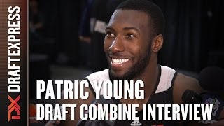 Patric Young Draft Combine Interview