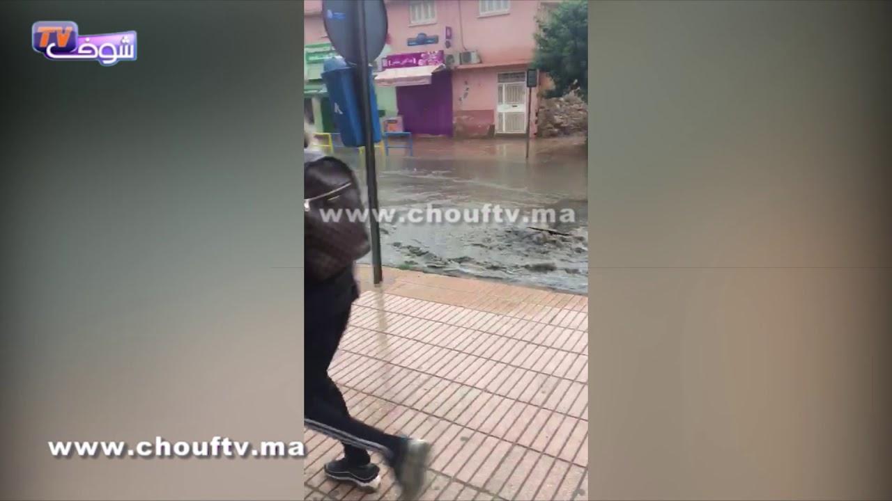 فضيحة و بالفيديو..أولى التساقطات المطرية تغرق مدينة أحفير الحدودية مع الجزائر | قنوات أخرى