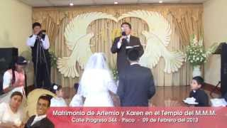 Ceremonia del Matrimonio Artemio y Karen YouTube
