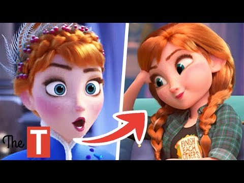 Disney Princesses That Looked Better And Worse After Wreck-It Ralph 2