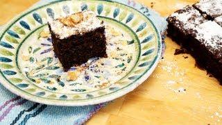 Gâteau chocolat et courgettes