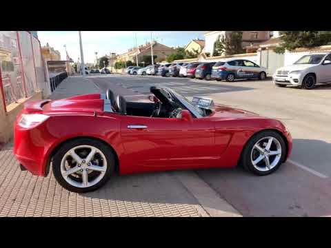 sehen video Opel GT 2.0 TURBO