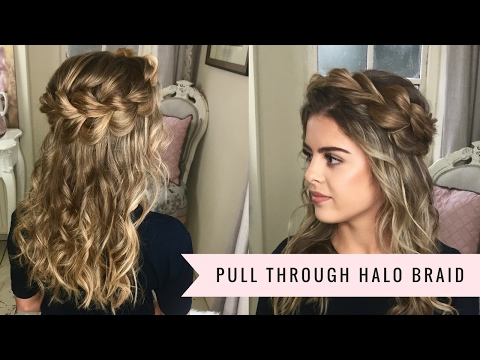 The Pull Through Halo Braid By SweetHearts Hair