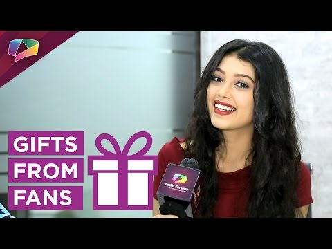 Digangana Suryavanshi received gifts from Fans par