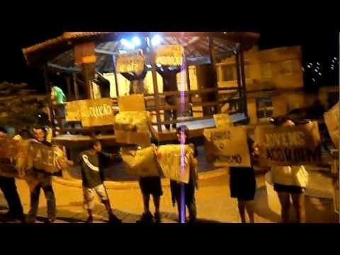 Protesto Pacífico em Sabinópolis