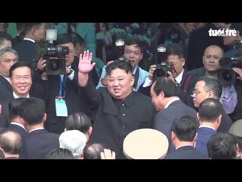 Quay chậm hình ảnh ông Kim Jong Un rời ga Đồng Đăng về nước - Thời lượng: 6:06.