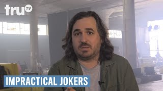 The Jokers may share a lot in their web chats, but these are the moments they didn't want you to see. Subscribe: http://full.sc/1s9KQGeWatch full episodes for Free: http://bit.ly/1bVxPrNIf laughter is contagious, these guys should be quarantined! Q, Sal, Joe and Murr have entertained each other for years with the most hilarious practical jokes they could imagine. Now these real-life best friends are challenging each other to the most outrageous dares and uproarious stunts ever to be caught on hidden camera.Follow Impractical Jokers on Twitter: http://full.sc/1ubWgY7Like Impractical Jokers on Facebook: http://full.sc/1CrLTDU truTV Official Site: http://www.trutv.com/Like truTV on Facebook:  https://www.facebook.com/truTVFollow truTV on Twitter: https://twitter.com/truTVFollow truTV on Tumblr: http://trutv.tumblr.com/Get the truTV app on Google Play: http://bit.ly/1eYxjPPGet the truTV app on iTunes: http://apple.co/1JiGkjhWay more truTV!  Watch clips, sneak peeks and exclusives from original shows like Comedy Knockout, Those Who Can't and more – plus fresh video from hit shows like Impractical Jokers and The Carbonaro Effect.Impractical Jokers - Atrocious Web Chat Moments  truTV
