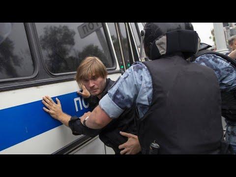 Russland: Hunderte Festnahmen bei Demonstration in Mo ...