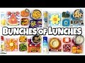 Video MYSTERY Family #4 Choose Our Lunches + Kids React😱 School Lunch Ideas for KIDS