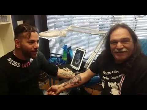 Pelle blucerchiata: il tifoso Bosotin si tatua… Enrico Nicolini!