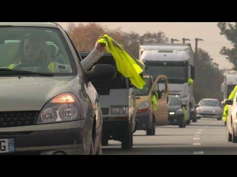"""Стойкие """"жёлтые жилеты"""": протесты перерастают в погромы…"""