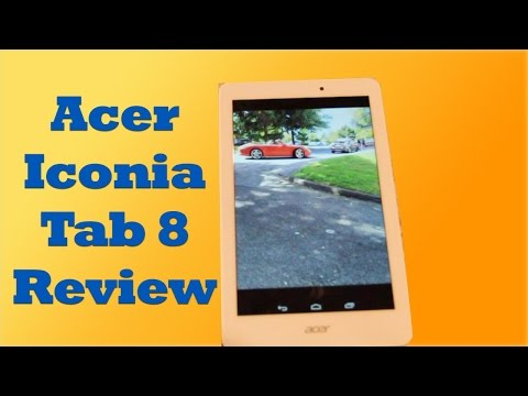 Acer Iconia Tab 8 A1-840FHD Review, Android KitKat Tablet