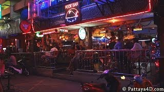 Pattaya Soi 6 Nightlife On Christmas Eve Dec 24 Part2 Happy New Year 2014