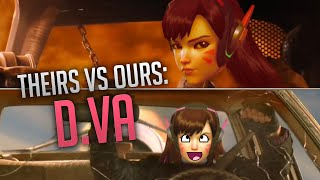 Overwatch - Theirs vs Ours: D.Va